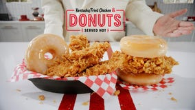 Move over, Popeyes – KFC sweetens chicken sandwich deal with donut buns
