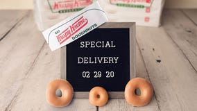 Krispy Kreme to deliver doughnuts from almost all locations starting Feb. 29