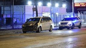 15 injured when wrong-way minivan hits CTA bus in Austin
