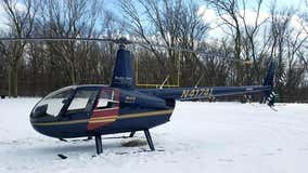 Helicopter makes unplanned landing in Stickney park area
