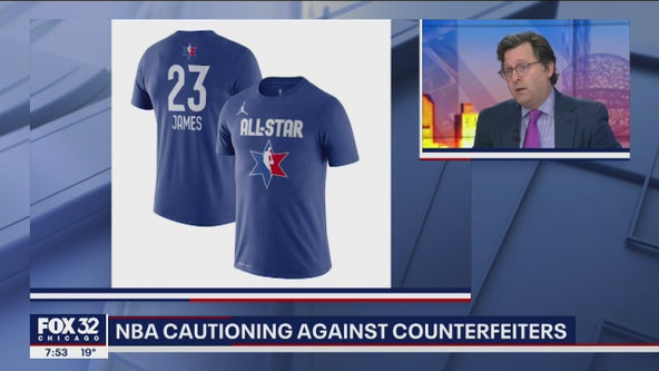 NBA warns of counterfeiters in Chicago