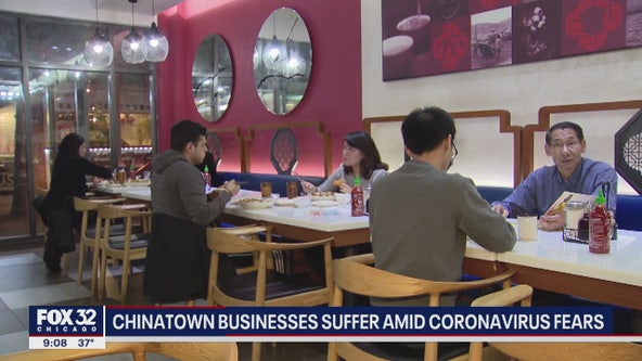 Chinatown businesses suffer in Chicago amid coronavirus fears