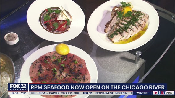 RPM Seafood delivers world-class fare overlooking the Chicago River