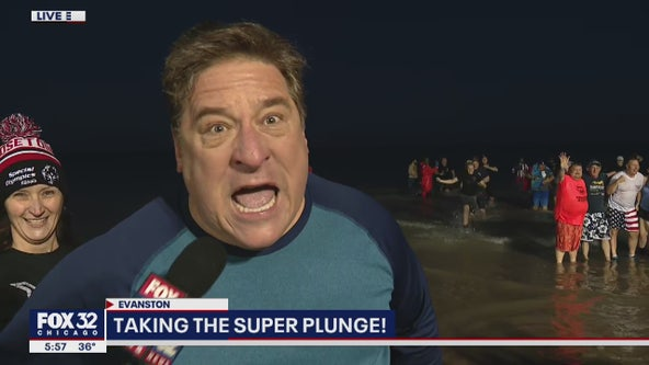 Mark Strehl takes the Super Plunge for Special Olympics Illinois