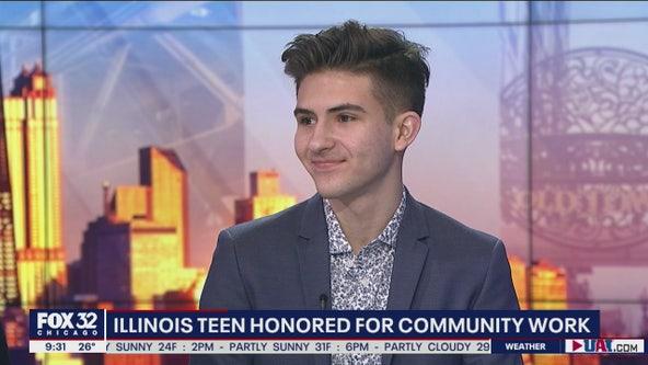 Local teen honored for amazing volunteering efforts