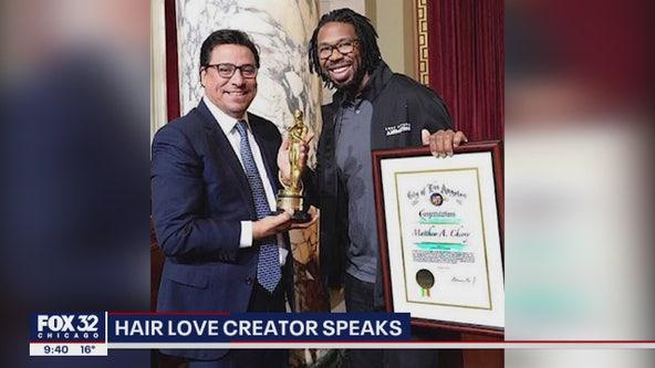 'Hair Love' creator Matthew Cherry sits down with FOX 32 to discuss Oscar-winning film
