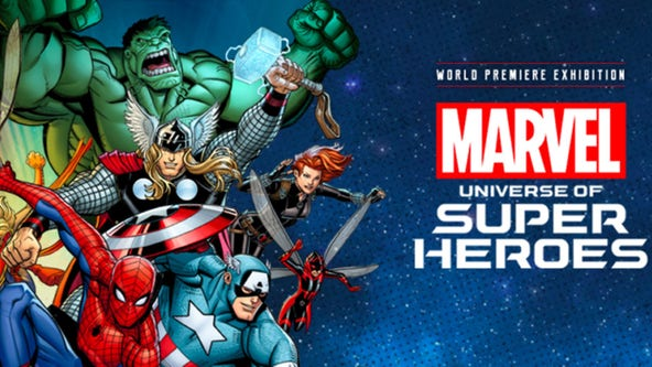 Marvel Comics exhibit coming to Chicago