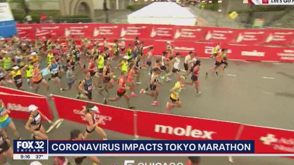 Tokyo Marathon limited to elite runners because of virus