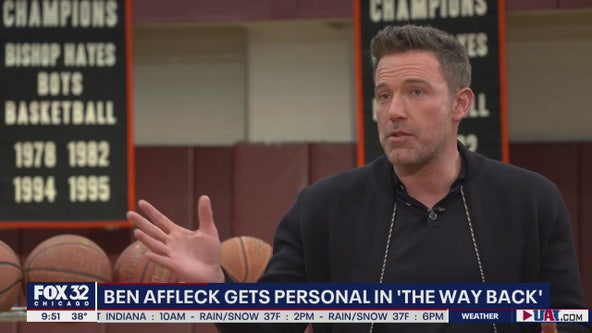Ben Affleck on getting personal in 'The Way Back'