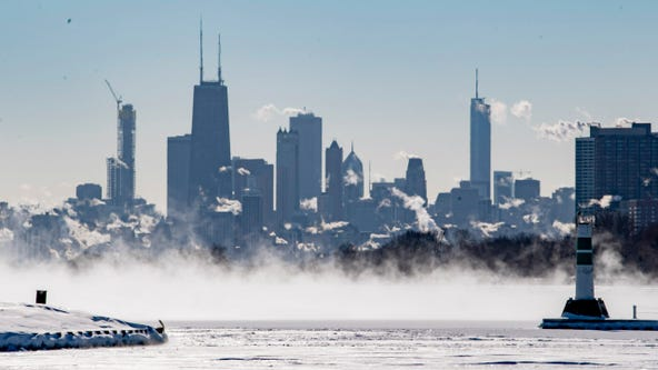 Chicago records coldest Valentine's Day temp in nearly half a century