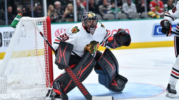 Dallas Stars beat Chicago Blackhawks 2-1
