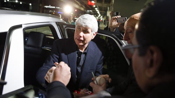 Ex-Gov. Rod Blagojevich returns to Chicago, maintains innocence