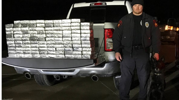 Police find $1.2M worth of meth hidden in Lewisville
