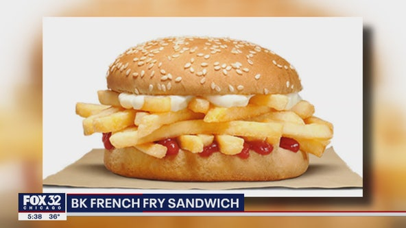 Burger King testing out French fry sandwich