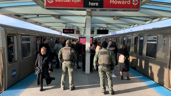 SWAT teams patrolling CTA stations amid spike in violent crime