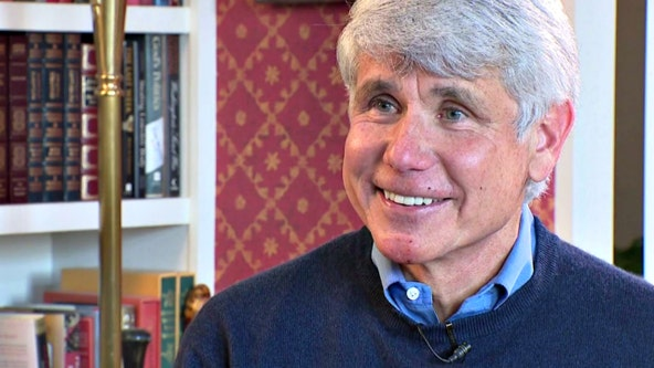 Rod Blagojevich sits down with FOX 32 for first 1-on-1 interview after Trump commutation