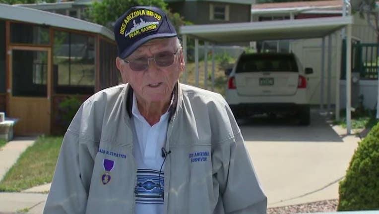 Donald Stratton, USS Arizona crew member who survived Pearl Harbor attack