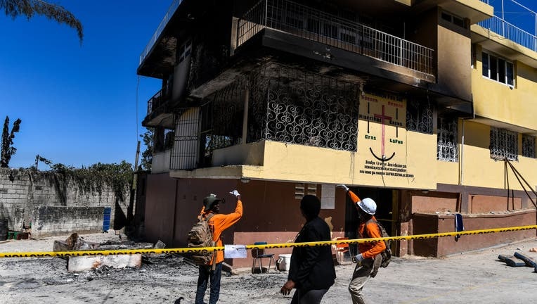 Deadly fire at orphanage in Haiti