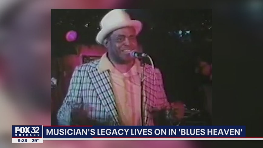 Legacy of blues legend Willie Dixon lives on in Chicago