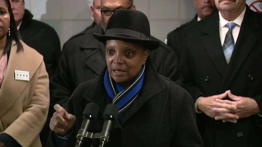Mayor's new CTA safety plan dedicates 50 officers to transit patrols