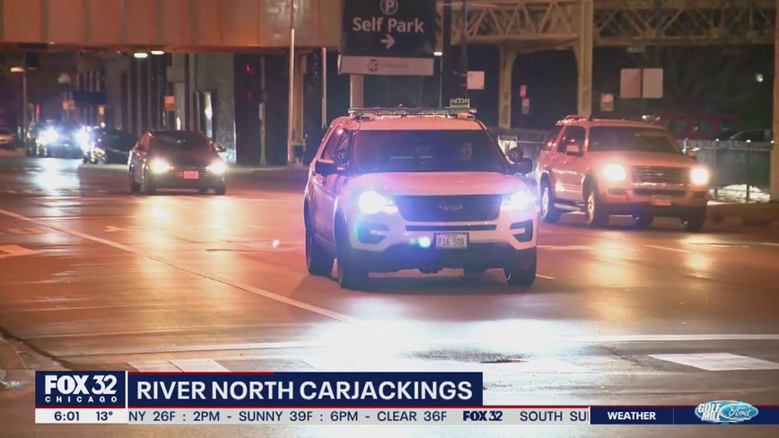 Armed carjackers steal Jeep after River North crash