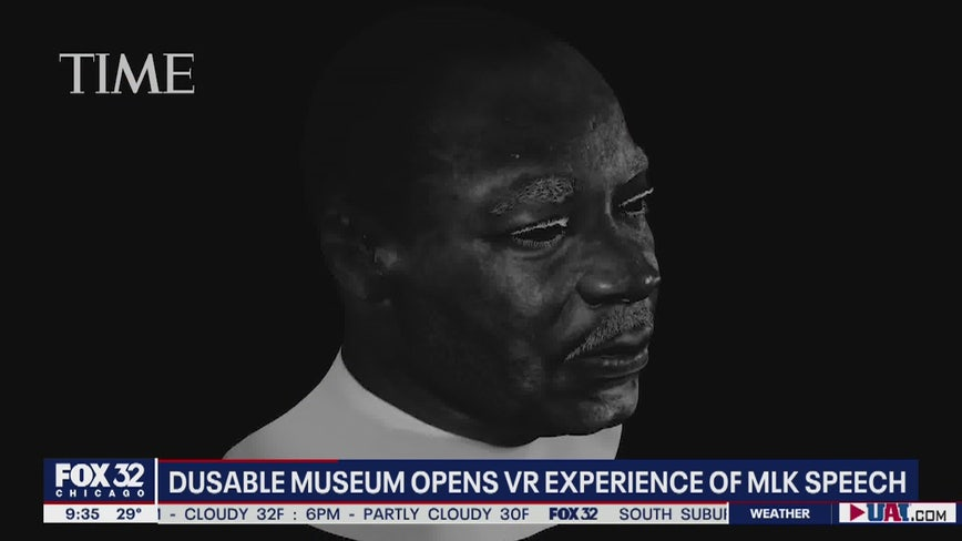 High-tech Chicago exhibit puts visitors eye-to-eye with MLK Jr.