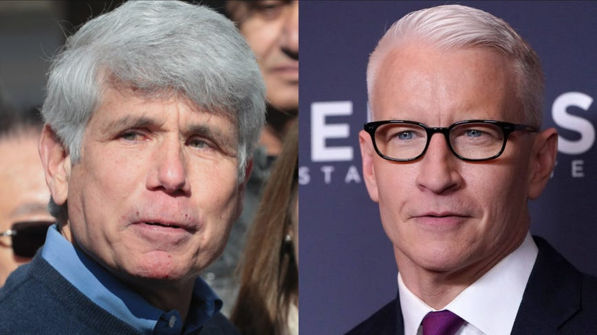 Newly freed Blagojevich, Cooper get profane during on-air clash