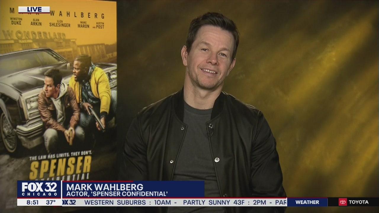 Mark Wahlberg Talks New Film Spenser Confidential