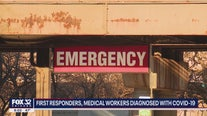 Dozens of Chicago first responders, healthcare workers contract COVID-19