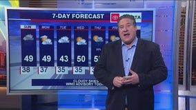 7 a.m. forecast for Chicagoland on March 29