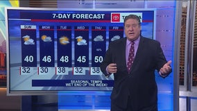 7 a.m. forecast for Chicagoland on March 15