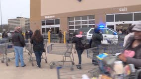 Police called to Sam's Club as shoppers scramble to load up on food and toilet paper