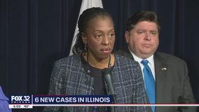 Coronavirus cases in Illinois reach 25