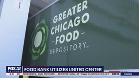 United Center turns into food hub to help support families during COVID-19 outbreak