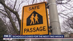Schools now closed in Illinois through March 30 to slow spread of coronavirus