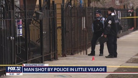Man shot by cops in Little Village charged with attempted murder