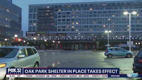 Shelter-in-place order takes effect in Oak Park
