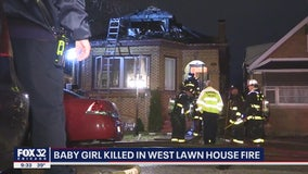 1-year-old girl killed, 8 injured in West Lawn fire