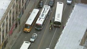 Chatham crash involving school bus injures 10