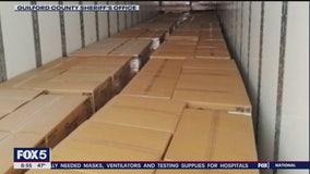 Police find stolen tractor-trailer full of toilet paper
