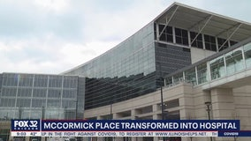 McCormick Place transformed into hospital to help with COVID-19 treatment