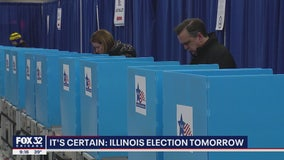 Illinois governor: Election still on, despite virus concerns