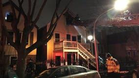 Firefighter hurt battling 2-alarm blaze in Little Village