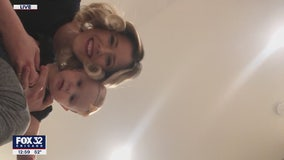 Kaitlin Cody's daughter makes an appearance on FOX 32 News