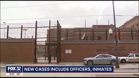 Chicago police, Cook County inmates hit hard by COVID-19