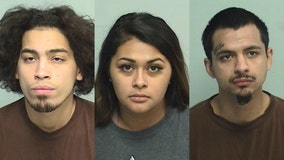 3 charged with beating, robbing woman in suburbs after house party