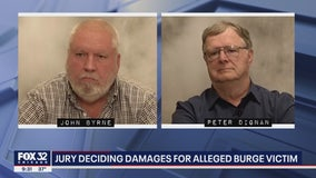 Jury deciding on $31M in damages for alleged Burge victim