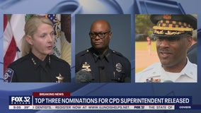 Names of 3 finalists for Chicago Police Superintendent job released