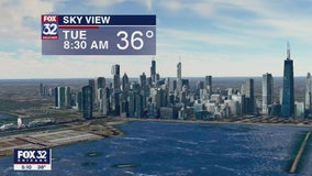 Morning forecast for Chicagoland on March 31st