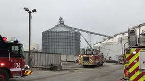 Fire department responds to silo fire on Far South Side
